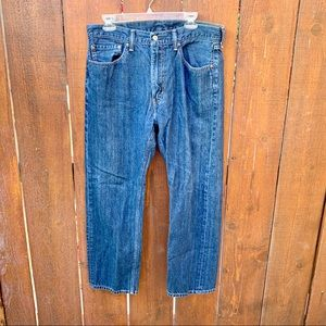 Levi Strauss EUC Medium Wash Straight Leg Jeans
